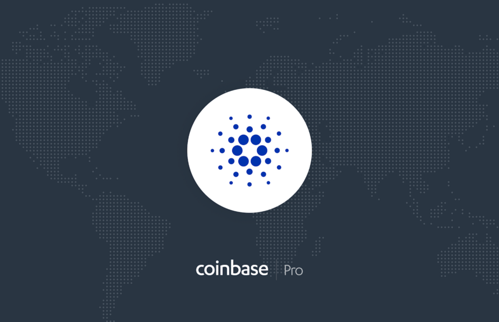Cardano (ADA) is launching on Coinbase Pro