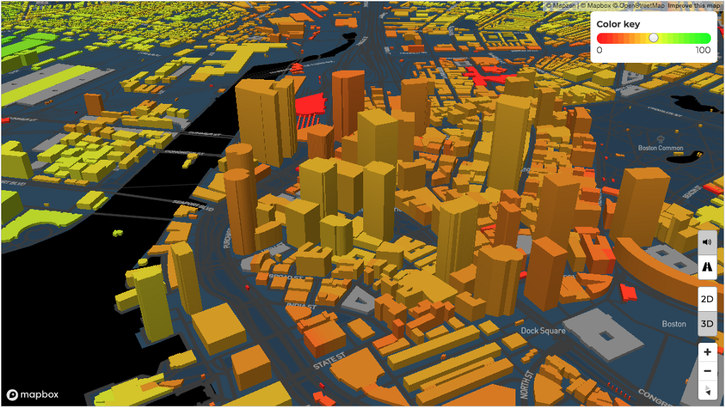 Total Home Score leverages Mapbox GL to