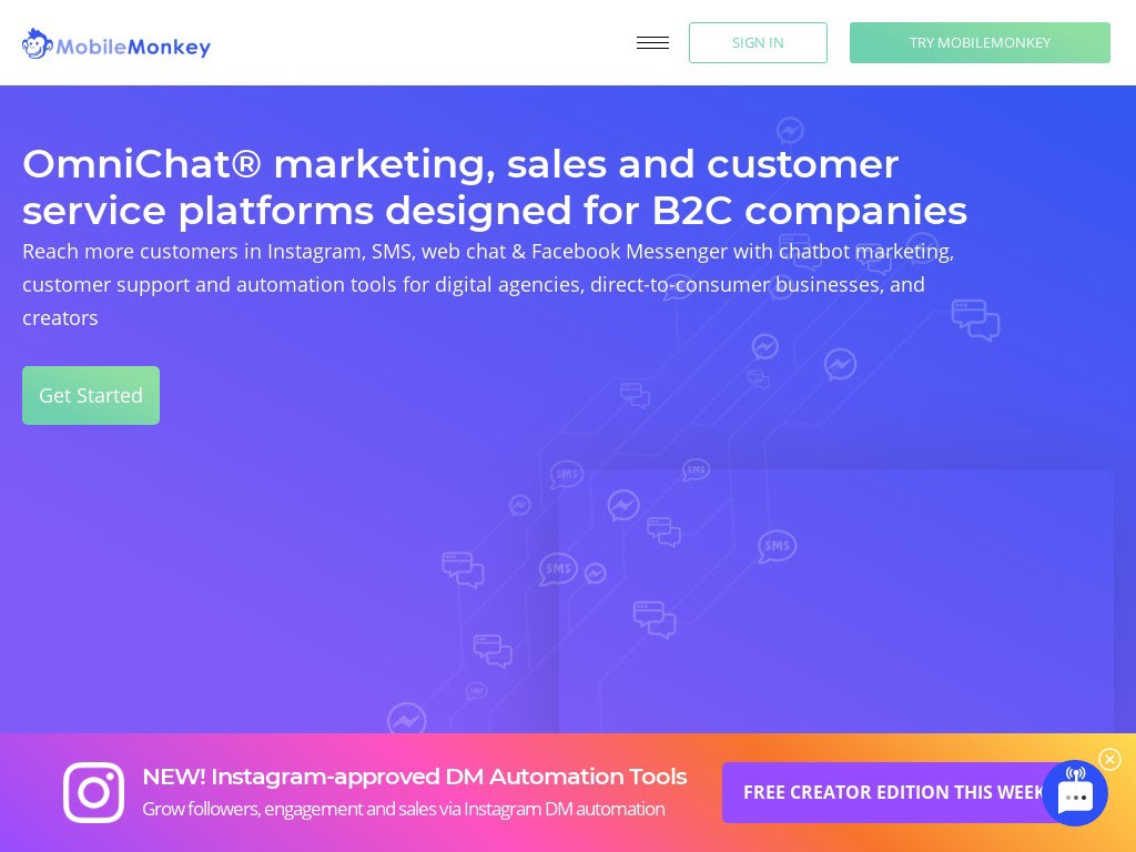 MobileMonkey is a must-have in every best chatbot