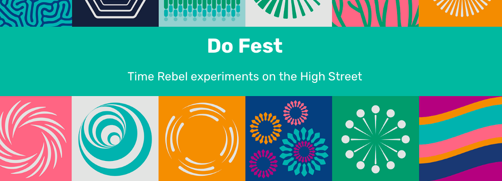 Sensing place: shared sensemaking—Insights from Do Fest 2021 Time Rebel High Street experiments