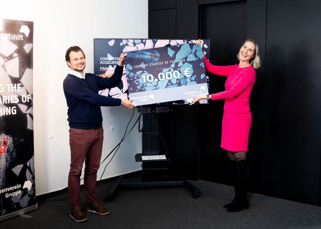 SciFlow awarded as Content Start-up of the Year 2020