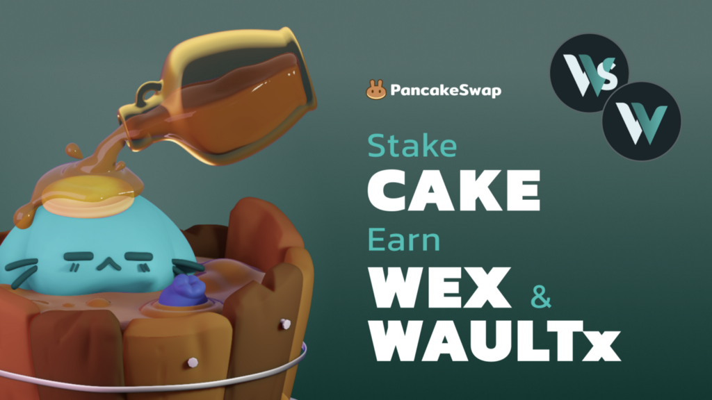 [PancakeSwap] PancakeSwap Welcomes Wault Finance for a Dual Syrup Pool! - AZCoin News
