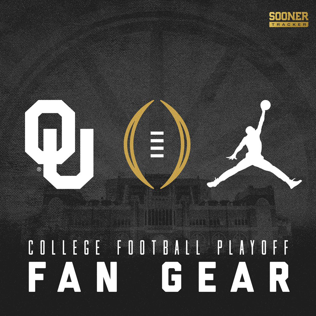 Oklahoma Sooners College Football Playoff Fan Gear Sooner Tracker