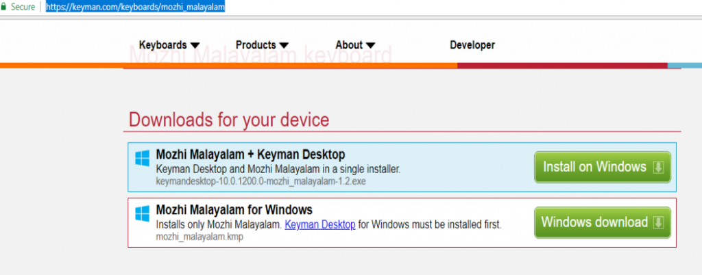 download google input tools malayalam for windows 10