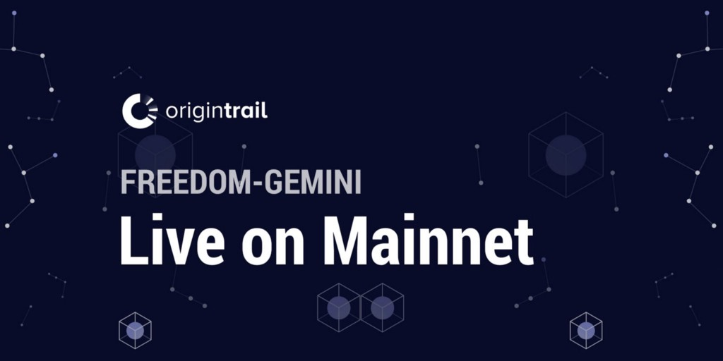 Freedom-Gemini Launched on Mainnet