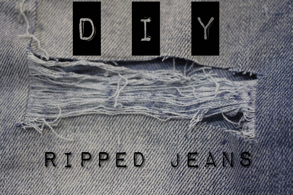 Tips Membuat Ripped Jeans Distressed Jeans Shopsmart Indonesia