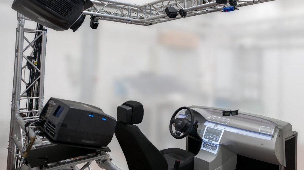 spatial AR setup used by Volkswagen