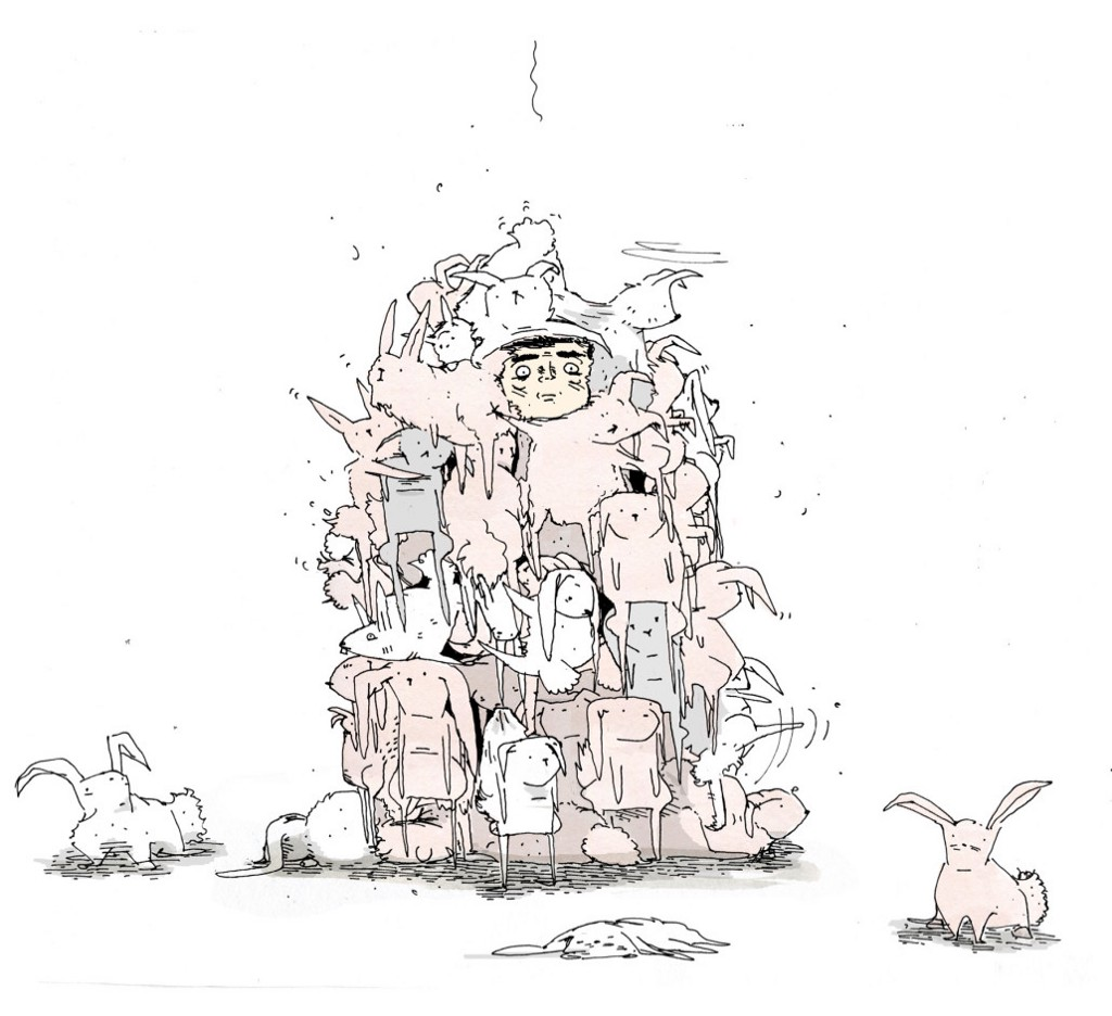 Overrun by Rabits