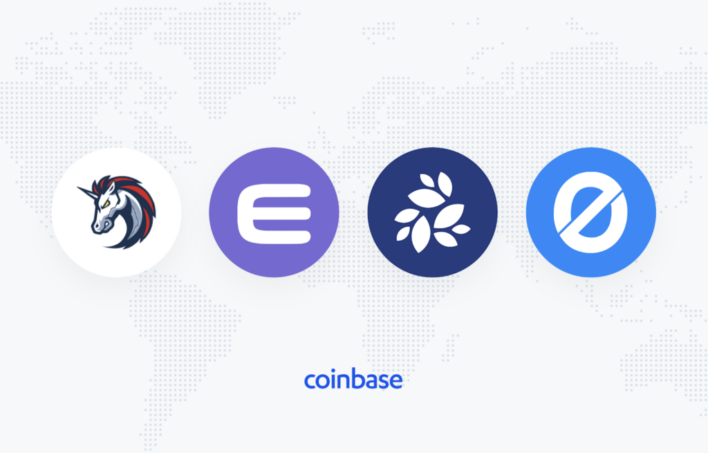 1inch (1INCH), Enjin Coin (ENJ), NKN (NKN) and Origin Token (OGN) are now available on Coinbase