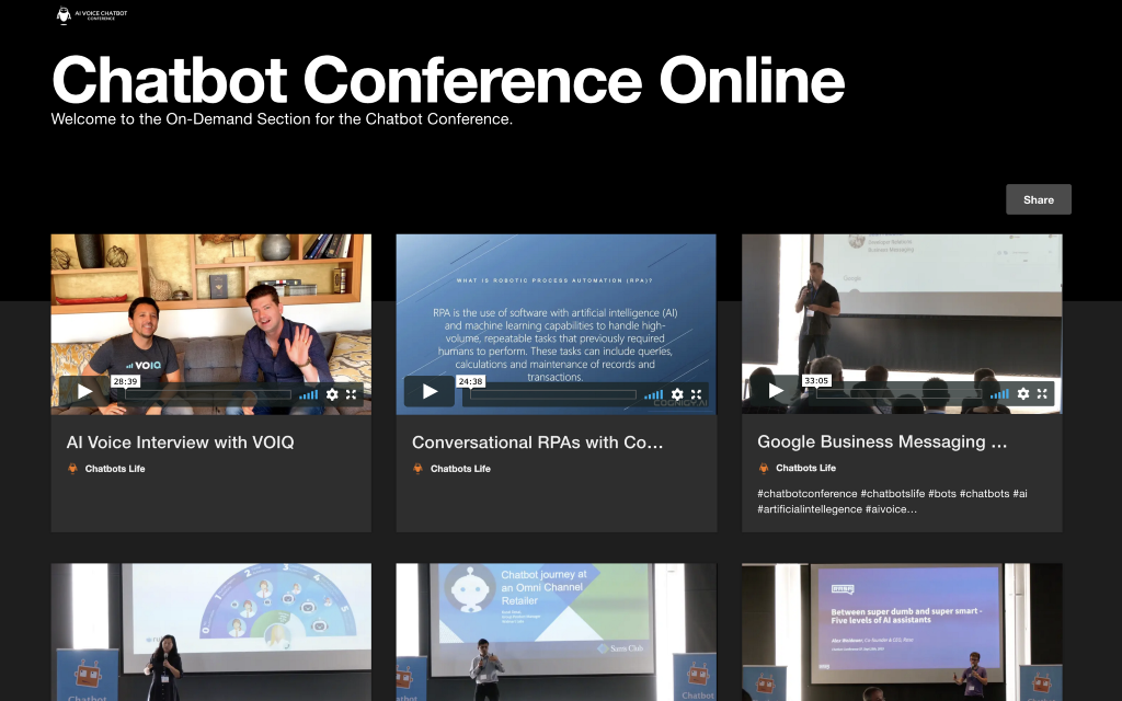 Chatbot Conference Online 3