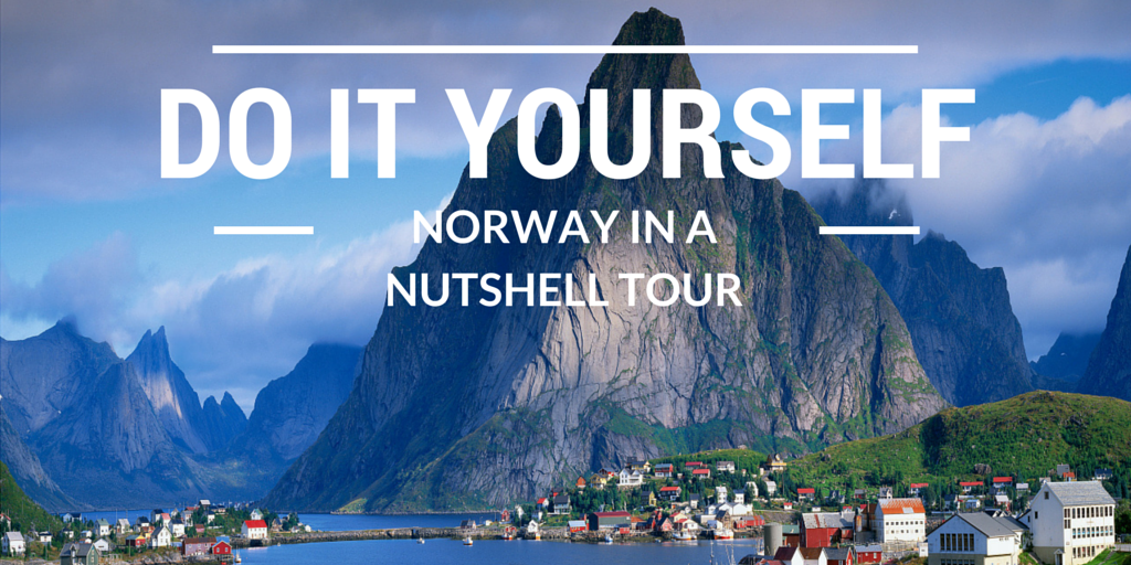 DIY Norway In A Nutshell Tour BOOK IT YOURSELF SAVE - Norway nutshell map