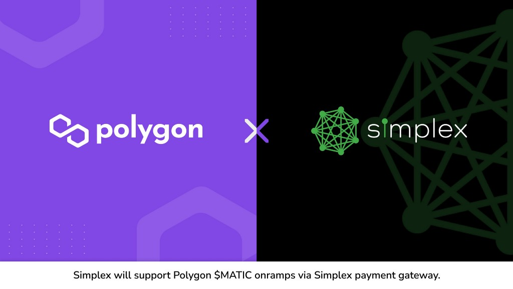 [Polygon] Simplex will support Polygon $MATIC onramps via Simplex payment gateway - AZCoin News