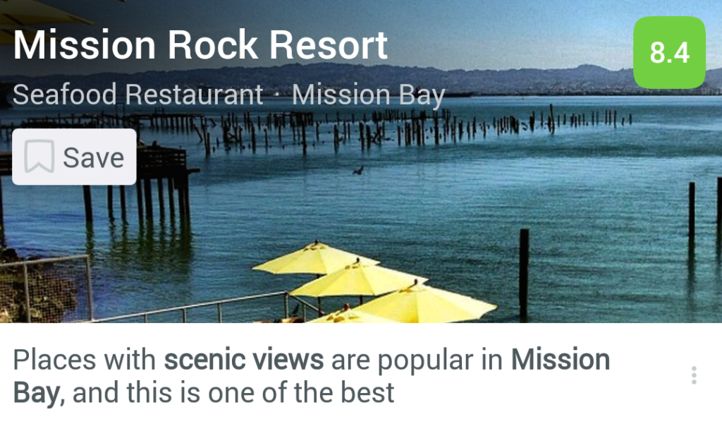 Mission Rock Resort Scenic View