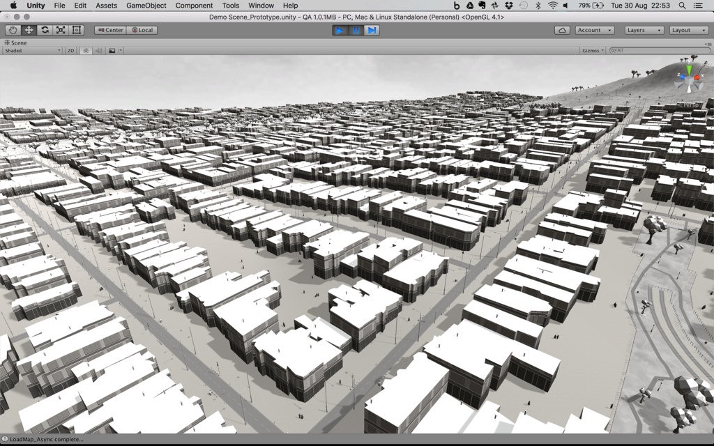 Interactive 3d maps in unity points of interest the environments generated with mantle are based on real time map data from every city and place in the world from 3d terrain and buildings gumiabroncs Choice Image