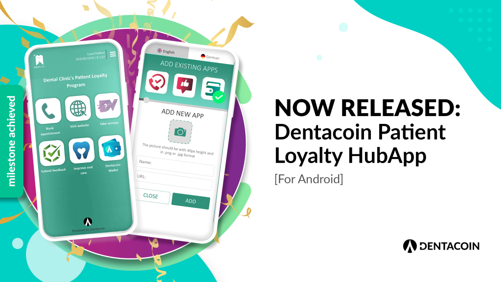 Dentacoin HUb app released mail android