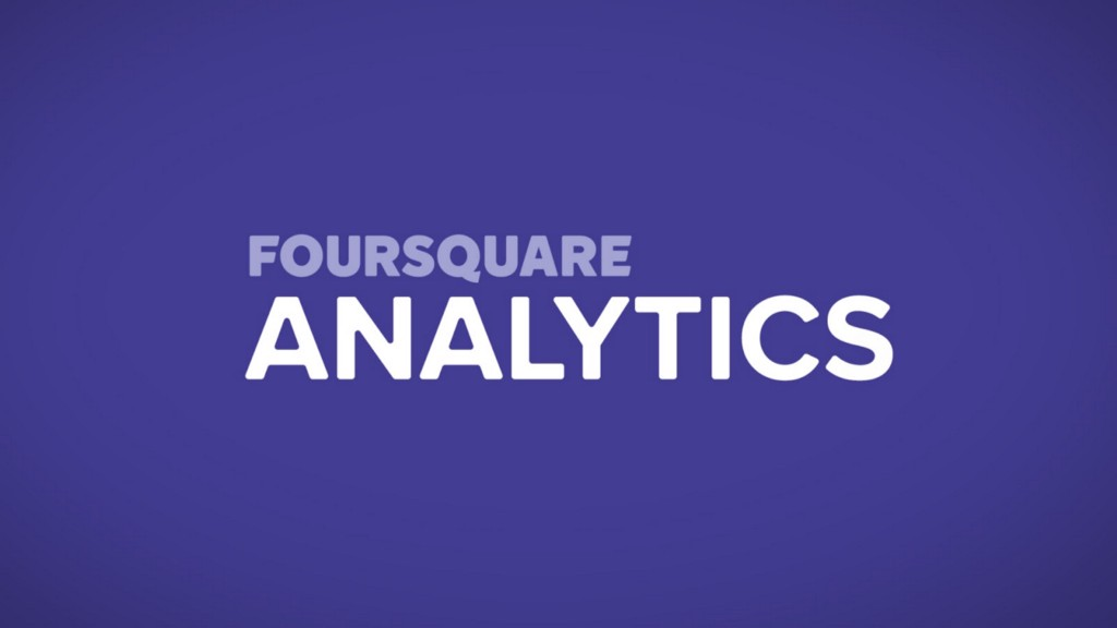Analytics by Foursquare logo