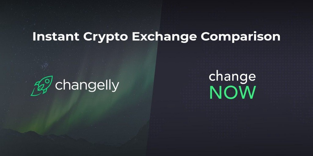 Instant Cryptocurrency Exchange Comparison — Changelly vs. ChangeNOW