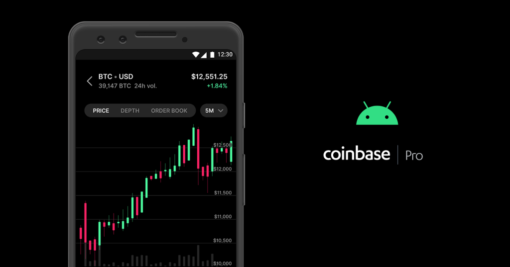 The Coinbase Pro mobile app is now available for Android devices