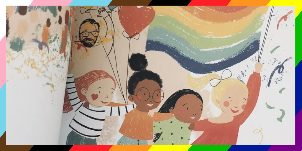 How I'm trying to become a better ally by educating my kids image