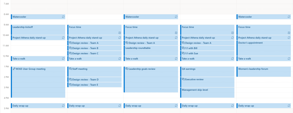 Pro work tip for 2021: Build a color-coded work calendar