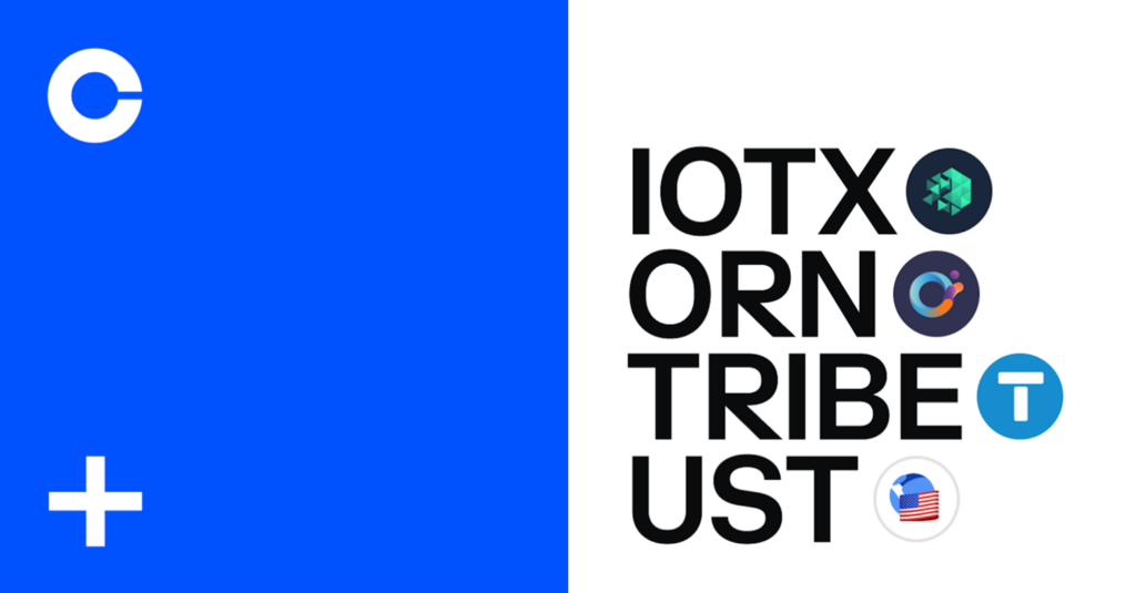 IoTeX (IOTX), Orion Protocol (ORN), Tribe (TRIBE) and TerraUSD (UST) are are now available on…Cryptocurrency Trading Signals, Strategies & Templates | DexStrats