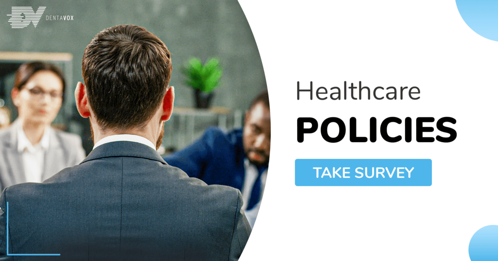 Dentavox paid surveys healthcare policies soc