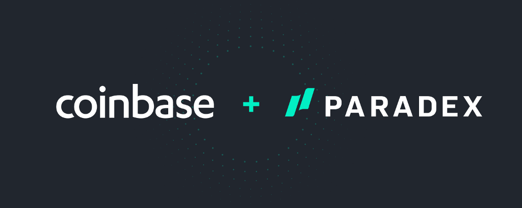 Welcome Paradex to Coinbase
