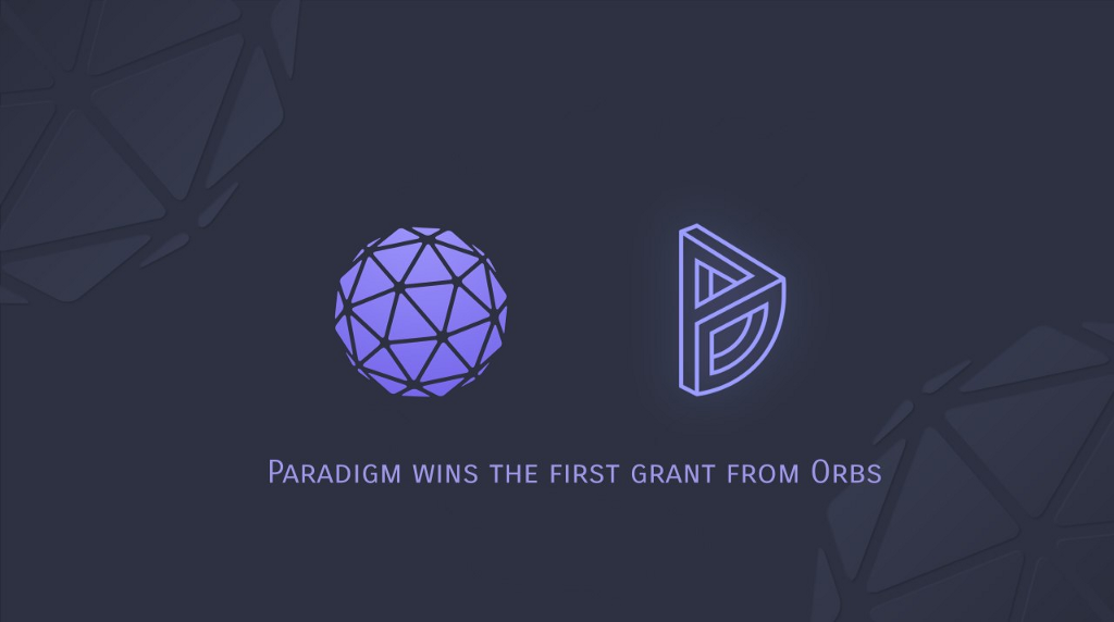 Establishment of AMM division with Orbs as the first community—founder's letter