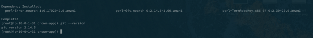 How to install Git, Docker, Docker-Compose, and Node in an EC2 instance.