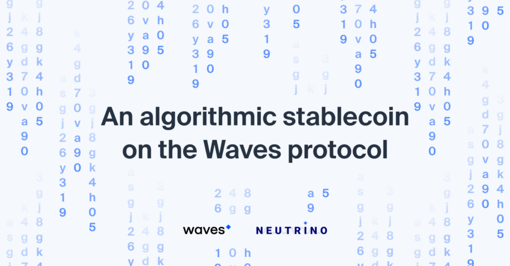 Neutrino stablecoin launched for Waves ecosystem