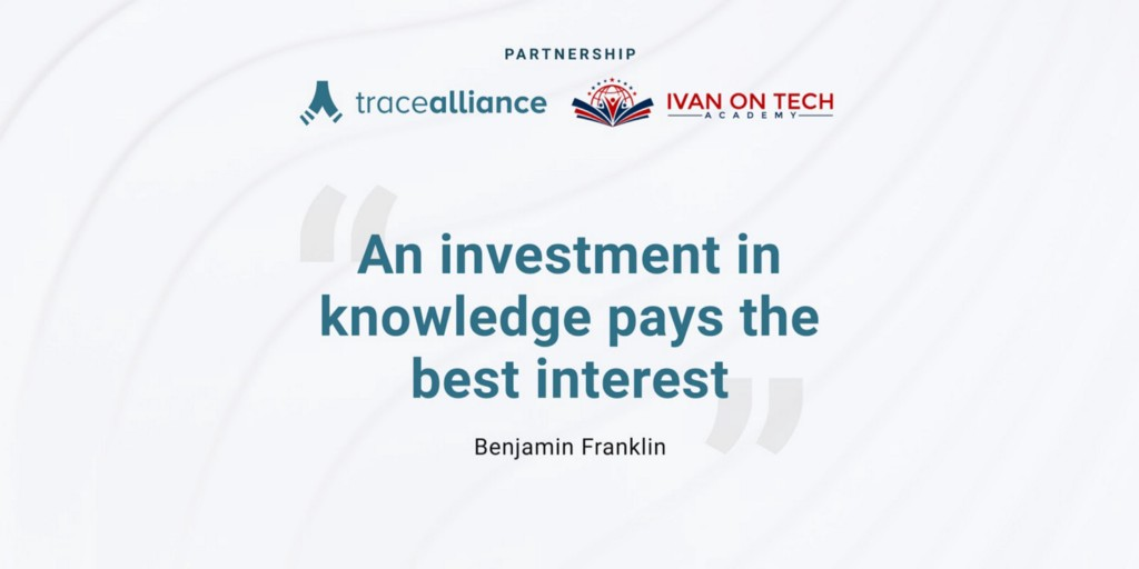 OriginTrail's Trace Alliance Partners with the Ivan on Tech Academy to Further Education on…