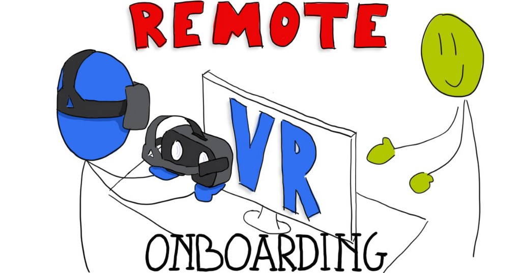 How to onboard remotely newcomers to VR collaboration