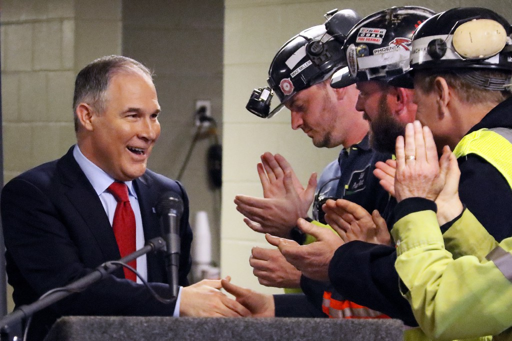 6 times Trump's EPA head did exactly what industry told him to