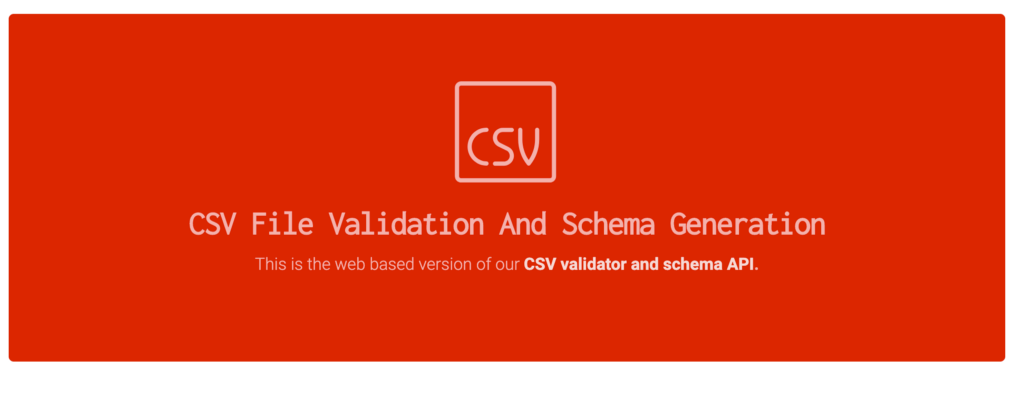 CSV File Validation: Quick And Easy Testing In Your Web Browser