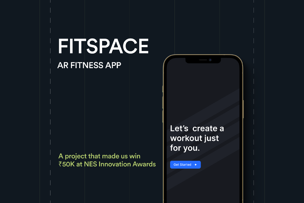 Fitspace is an AR fitness application where you practice all your home workouts, recommended exercises as per user fitness goals along with a personal trainer all 3 in a single application.