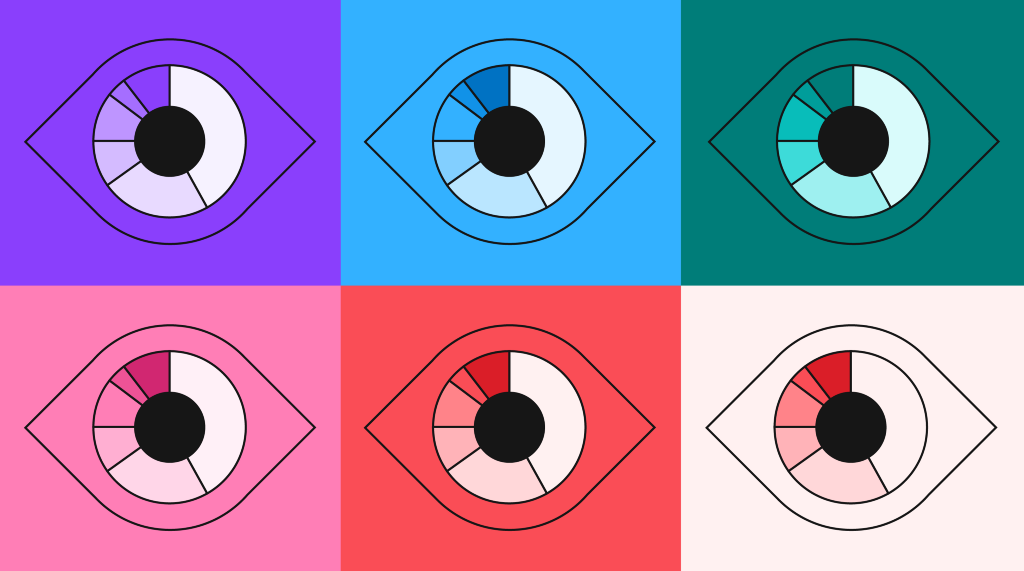 Color palettes and accessibility features for data visualization