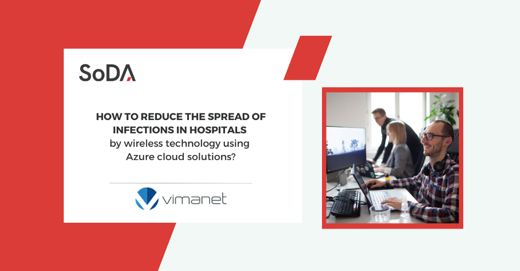 How did Vimanet help to reduce the spread of infections in hospitals by wireless technology using…
