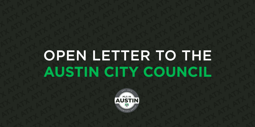 Open Letter to the Austin City Council