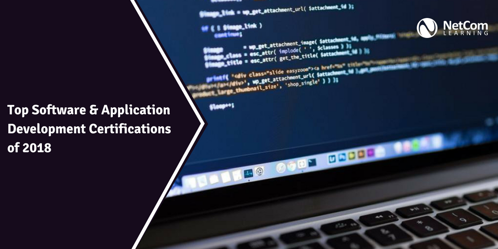 Top Software Application Development Certifications Of 2018