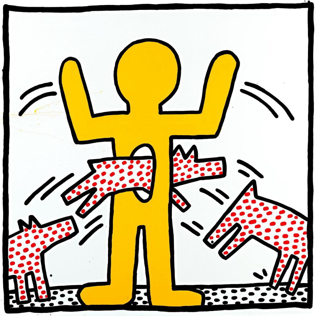 Remembering keith haring the absorbe medium from decorating the blank walls of the new york subway to setting up his pop shop keith haring always sought to make his work accessible and affordable biocorpaavc Gallery