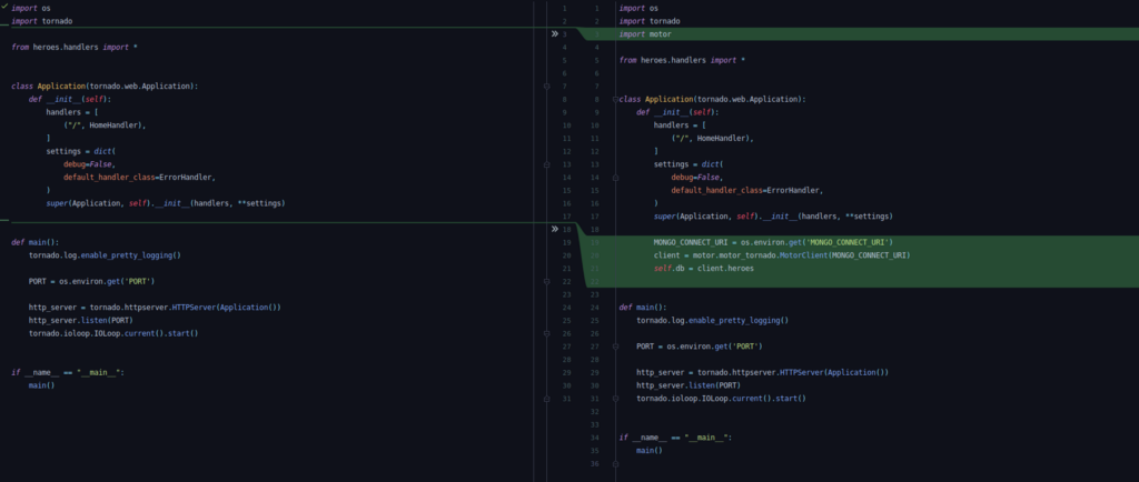 Tutorial: Writing a REST API with Tornado & Motor - By Ramit