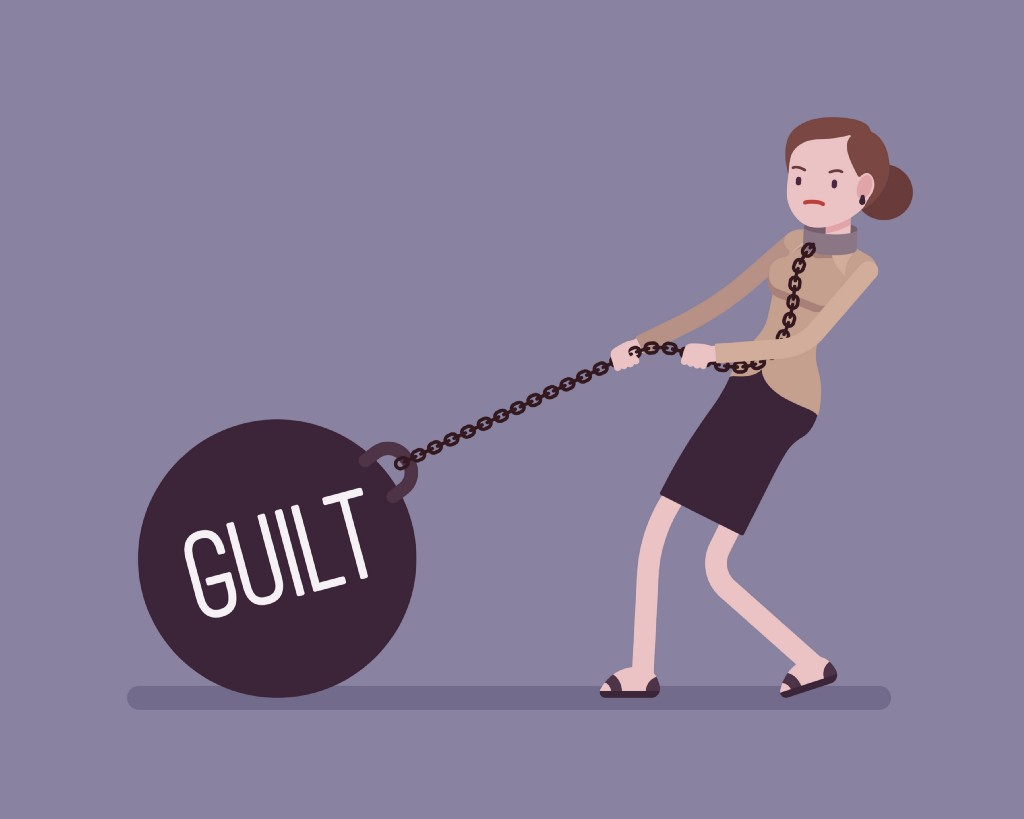 Dealing with white guilt is not our role for your soul