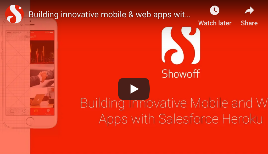 Webinar: Building Innovative Mobile & Web Apps with Salesforce Heroku Blog Illustration
