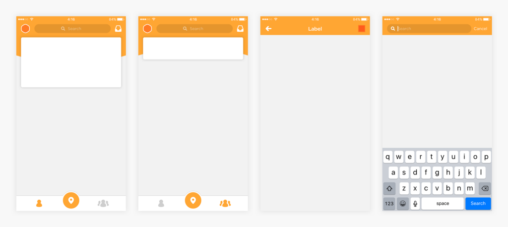 Stripped down visual of Swarm 5.0 design