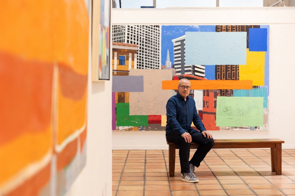 Colors, shapes & cityscapes: Exhibition showcases 30 years of painter's evolution