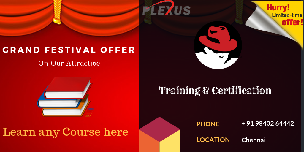 Redhat Certification Training And Exam Certification Chennai