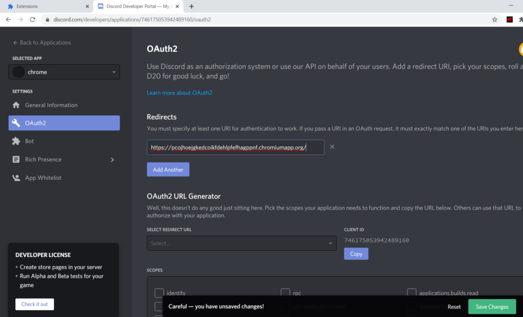 Use Discord to Login to Your Chrome Extension