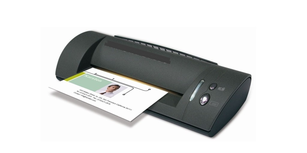 Business card scanner machines - Do they really solve the problem ?
