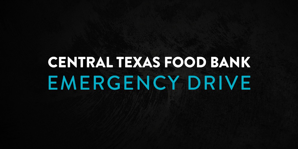 Central Texas Food Bank Drive