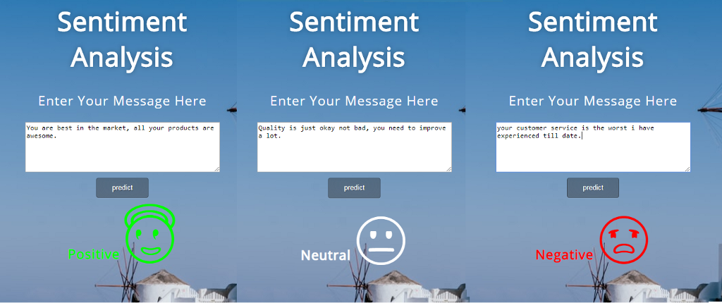 Sentiment Analysis—from Scratch to Production (Web API)
